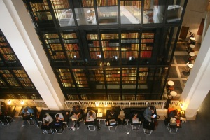 Nomadic working at the British Library allows for co-presence