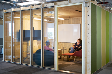 Jack unit installed in Google's London HQ in 6 Pancras Square [Source: AHMM]